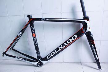 NEW  Genuine Black Colnago M10 carbon frames road bicycle bike Frame+fork+headset free shipping