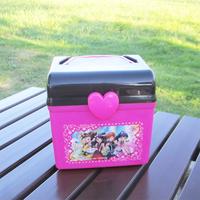 Multifunctional plastic square storage box