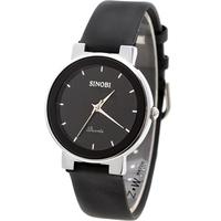 Free shipping Luxury Gentle Men's Man/Women Analog Dress Leather Band Quartz Wrist Watches