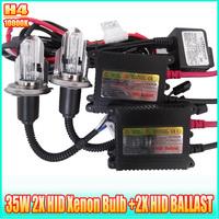 Hid xenon conversion kit H4 10000K 35W HID AUTO CAR replacement lamp HID xenon ballast