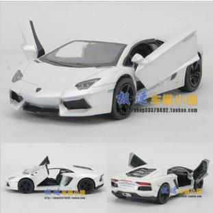 2013 fashion children's toy car classic vintage alloy car model wholesale free shipping  1:38 new Lamborghini LP700-4