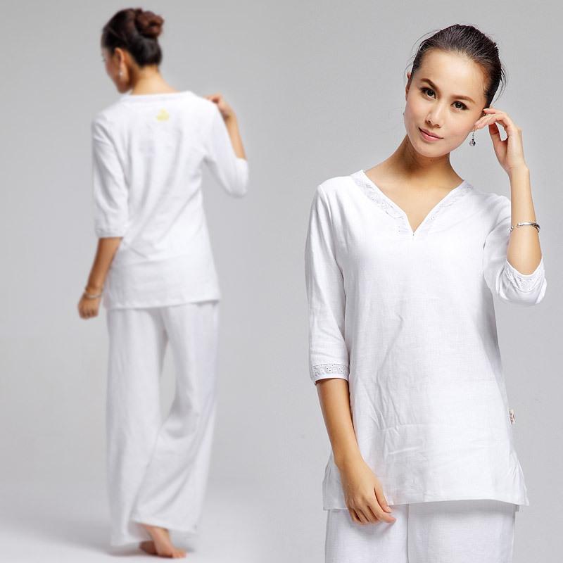 Aliexpress.com : Buy White Women's Kundalini Yoga Clothes