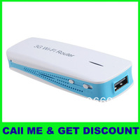 Portable Mini Wireless wifi Router 3G Hotspot 150Mbps 1800mAH portable Charger Power Bank WIFI support 3G USB Router