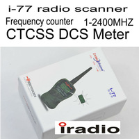 kendio i-77 radio scanner for two way radio transceiver Frequency Counter CTCSS DCS Meter Measurement 1MHz-2400MHz