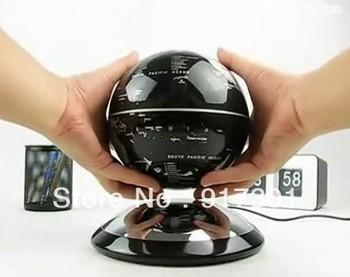 Christmas Gift 6 Inch Magnetic levitation floating globe Amazing decoration gift Free shipping Logo printing avialable 10pcs/lot