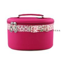 Bodan bow cosmetics shaping cosmetic bag handbag drum bag