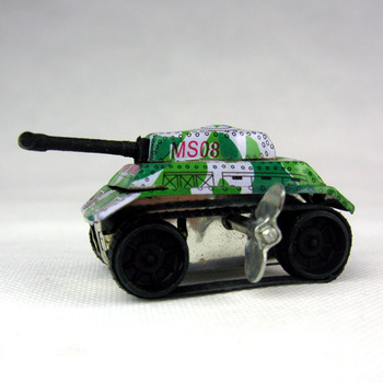 Nostalgic classic iron sheet wind up toys of treasuring the tankette car toy