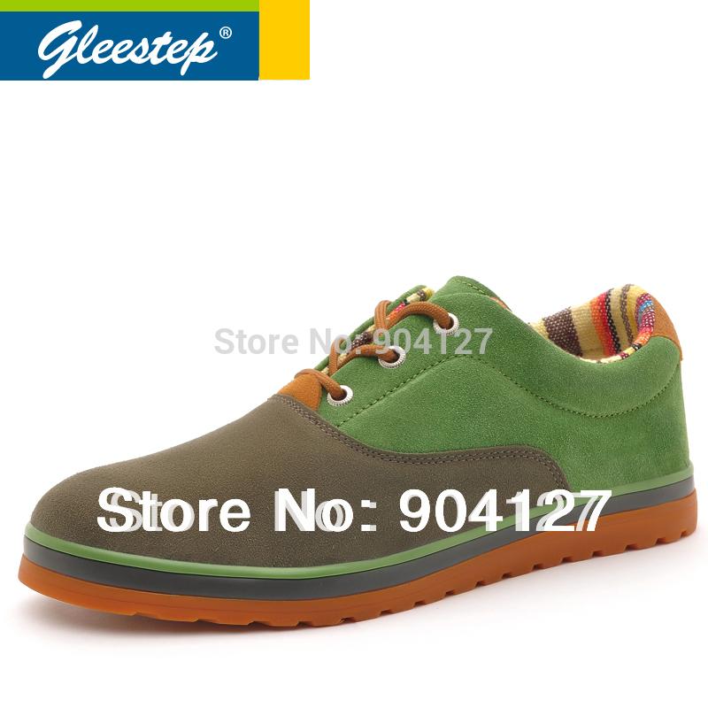 Gleestep весна мода дышащая свободного покроя скейтбординга популярного мужская обувь YN022