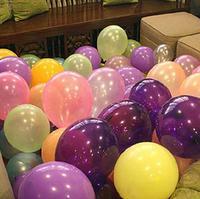 Free Shipping Wholesale 1.5g/pcs  Latex Balloon 10 Inches Round Pearl Balloons, Wedding Balloons, 100PCS/lot