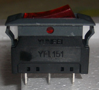 UL  boat switch WITH CIRCUITBREAKER