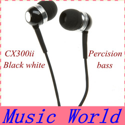 Hot Sell High Quality CX300II CX300ii Percision MP3 Earphones In Retail Box Dropship Freeshipping(China (Mainland))