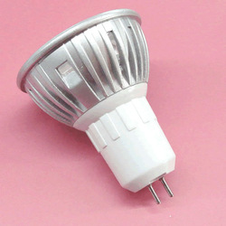 3W LED SPOTLIGHT led spotlight bulb spotlight lame 3 pieces of hight power chip G5.3 BASE die-casting aluminium(China (Mainland))