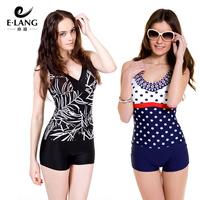 Free shipping 2014 Women's  one piece swimwear swimsuit hot springs women's swimsuit