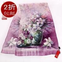 Silk scarf long design silk scarf digital mulberry silk