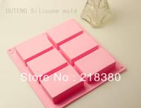 Diy handmade soap mould soap fangzhuan silica gel cake mould handmade soap silica gel rectangle