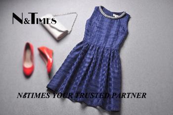 Vivien2013 spring and summer new arrival fashion high quality women's rib knitting beading diamond one-piece dress