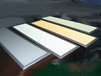 Free Shipping, 60W, 1200*300mm Led Ceiling Light  Warm White /White Led down Light, AC85-265V Led Square Panel Light 4pcs/lot
