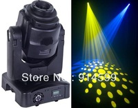 Wholesale Cheap 2 PCS/LOT 60W LED Professional Stage Moving Head Lighting with 3-Facet Rotating Prism & Auto Zoom, Free Shipping