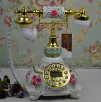 Caller id telephone rustic telephone fashion phone vintage telephone