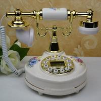 Fashion vintage rustic phone fashion phone home phone luxury ceramic telephone