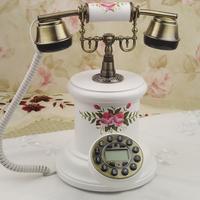 Fashion royal phone antique telephone technology phone noble wood telephone