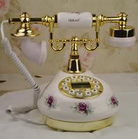 Fashion high quality ceramic telephone antique telephone fashion phone rustic telephone fashion