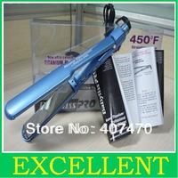 New Nano Titanium Hair Straightener irons 1.5 inch  Flat Iron thinnest blue pro nano titanium plates freeshipping