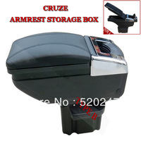 09-13 CHEVY Chevrolet CRUZE  Black/GRAY/BEIGE Armrest Storage Box Cover Center Console Free Shipping