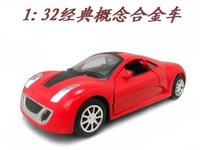 Concept car alloy car model acoustooptical WARRIOR toy car