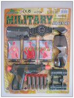 6 set plastic toy gun series toy