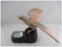 Crafts decoration - - carving lighter acoustooptical ashtray