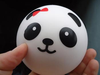 10pcs 10cm Jumbo panda round ball squishy