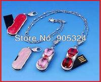 4GB 8GB 16GB Heart Shape Jewelry usb 2.0 flash memory disk usb pen drive usb storage disk,10pcs/lot