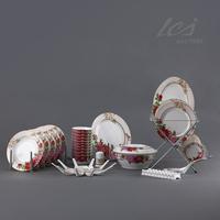 Tableware set 56 jingdezhen bone china bowl quality wedding gifts