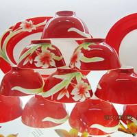 Avowedly 56 bone china tableware set tableware bowl gift handmade sculpture h023