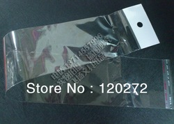 FREE SHIPPING!6x31.5cm,hair extension packaging plastic bag.In addition,the size of 13x60cm,10000 MOQ.If you need to contact me.(China (Mainland))