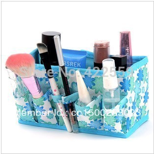 Min Order $15(mixed order)  cosmetics desktop storage box storage box finishing box multicolor home storage 2244
