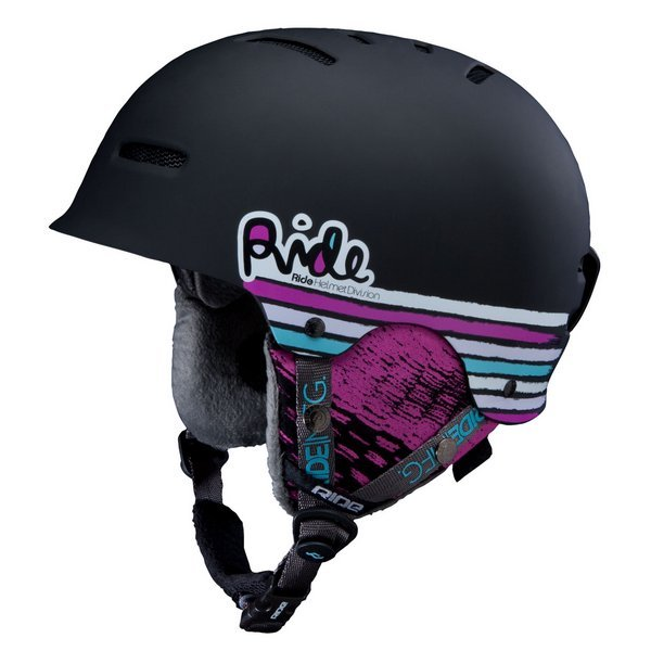 Ride vogue girls snowboard helmet black skiing helmet(China (Mainland))