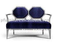 Neoclassical lounge two seats chair PFC8443