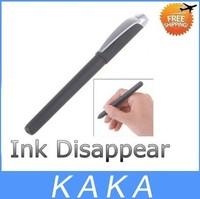 Free shipping 5pcs/lot Novel Magic Auto Vanishing Disappearing Ink Pen Invisible Ink Sign Pen Stationery - Black