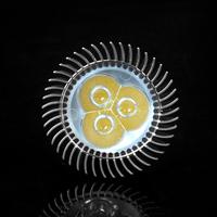 10pcs /lot GU10 3W LED Spot Light White/Warm White High Brightness 85-265V Free Shipping