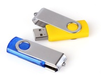 Wholesale Spin Printed USB Flash Drive 4GB 8GB 16GB 32GB