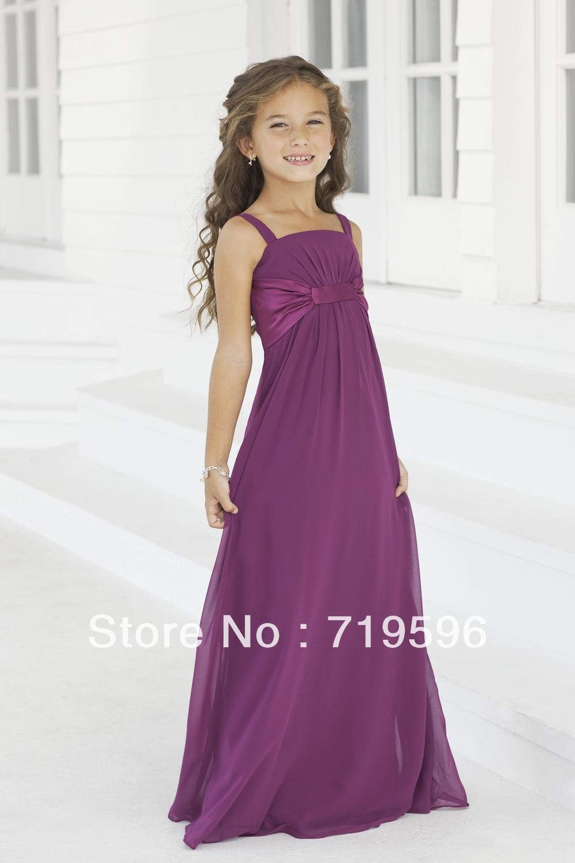 Designer Junior Bridesmaid Dresses