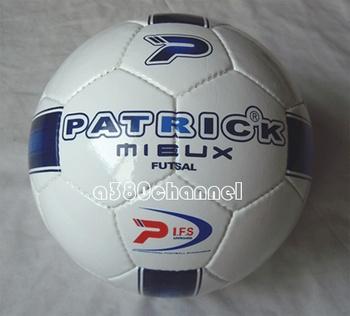 I . f . s ball patrick 's top futsal indoor football 4 sew-on