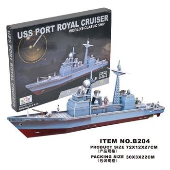 3d puzzle model yacht boat model model