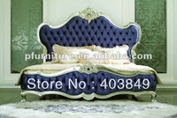 High end neoclassical bed NC120101