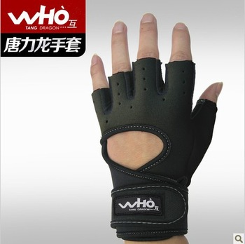 Free shipping/fitness gloves/small wristbands/sports gloves/lady half refers to equipment/gear quality goods