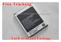 Free Tracking New Original 1500mAh EB425161LU Cellphone Battery for Samsung Galaxy S3 Mini i8190 i699 i8160 S7562 S7562I S7568