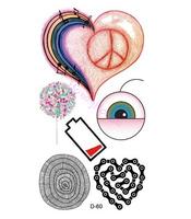 Free shipping ,10pcs/ lot Temporary tattoo stickers Temporary body art Supermodel stencil designs Waterproof tattoo #NS0036#