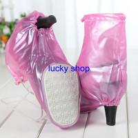 New Arrival Waterproof Non-slip PVC Fashion High Heel Shoe Covers  Free shipping